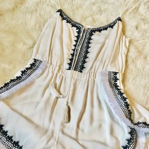 Guess Black and White Romper